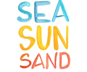 summer, sun, and sand image