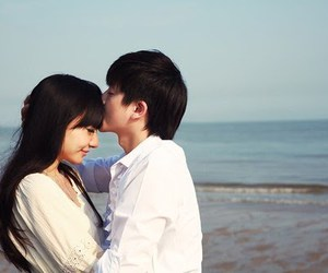 couple, love, and asian image