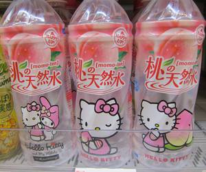 hello kitty, pink, and japan image