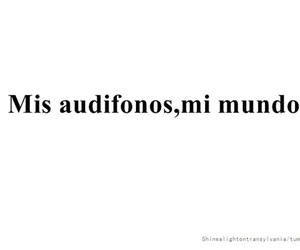 music, audifonos, and musica image
