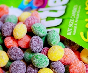 skittles, candy, and sour image