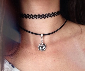 grunge, choker, and hipster image