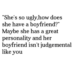 boyfriend, quote, and personality image