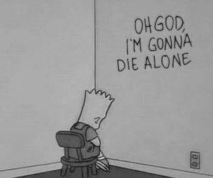 alone, bart, and die image