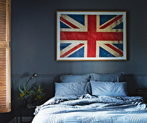 bedroom, home, and london image