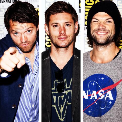 Jensen Ackles Jared Padalecki Misha Collins Wallpaper