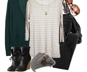 black, boots, and outfits image