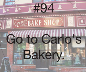 94, 100 things to do in life, and bakery image