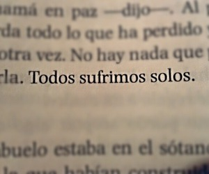 frases, book, and sufrir image
