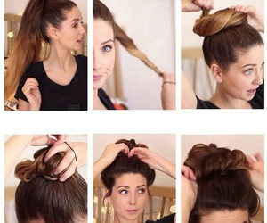 zoella, hair, and diy image
