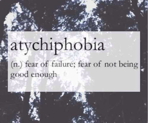 fear, failure, and quote image