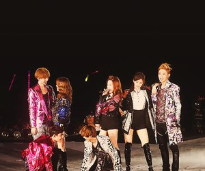 exo, snsd, and kpop image
