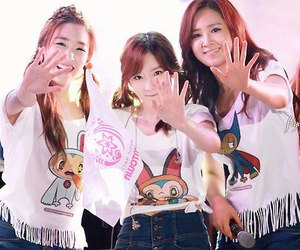 tiffany, yuri, and taeyeon image