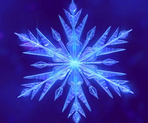 frozen, disney, and snowflake image