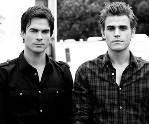 brothers, salvatore, and love image