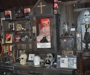 creepy, museum, and paranormal image