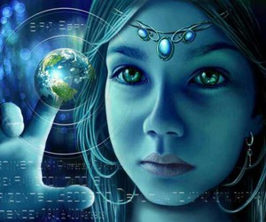 bohemian, crystals, and metaphysical image