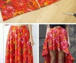 diy, skirt, and tutorial image