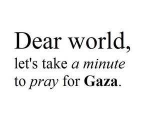 allah, world, and Gaza image