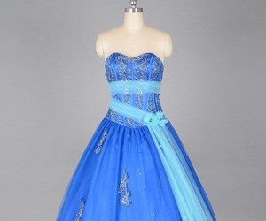 dress, women, and quinceanera dress image