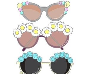 sun glasses, overlays, and transparent image