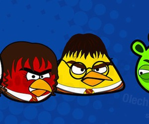 harry potter and angry birds image