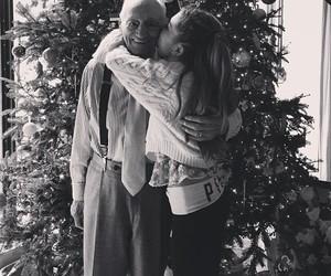 ariana grande, christmas, and grandpa image