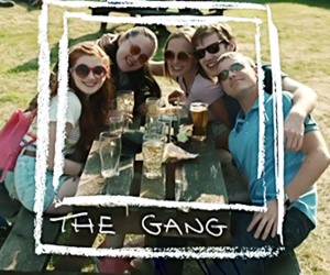 gang, friends, and my mad fat diary image