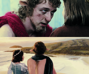 georgie henley, james mcavoy, and lucy pevensie image