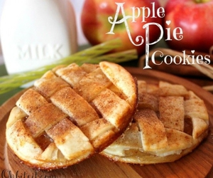 apple, Cookies, and Apple Pie image