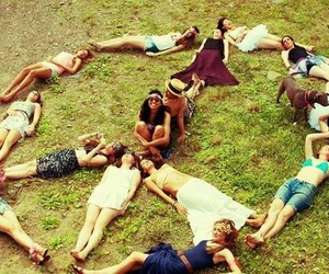 friends and hippie image