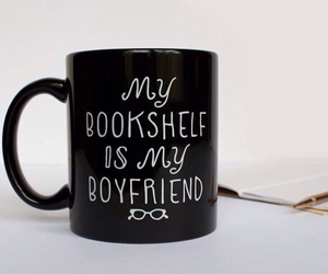 book, bookshelf, and boyfriend image