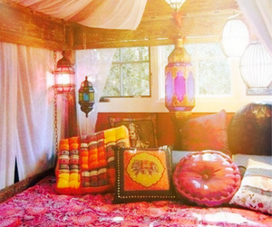 beautiful, bedroom, and exotic image