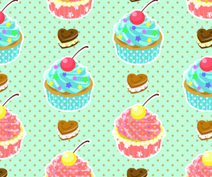 background, cupcake, and food image
