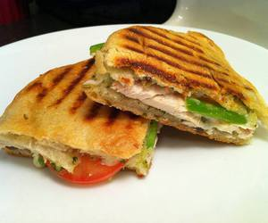 sandwich, delicious, and eat image