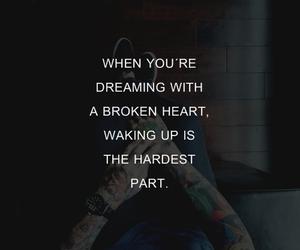 broken, broken heart, and Dream image