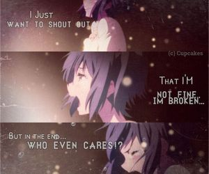 36 Images About Anime Quotes On We Heart It See More About Anime