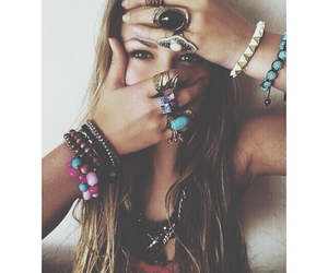 girl, hipster, and hippie image