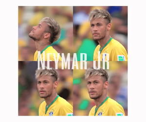 brazilian, footballer, and neymar image