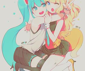 anime, miku hatsune, and seeu image