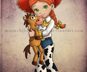 disney, toy story, and jessie image