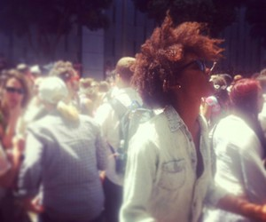Afro, festival, and hair image