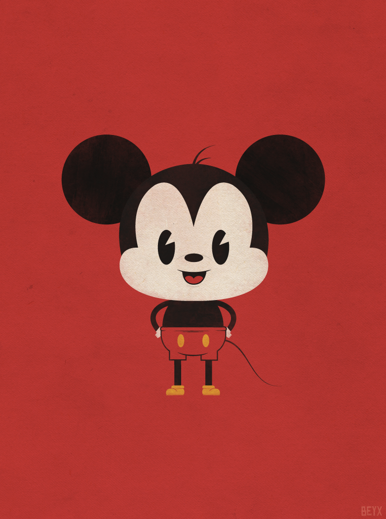 Mickey Via Tumblr Uploaded By Poli On We Heart It