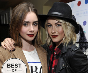 julianne hough and lily collins image