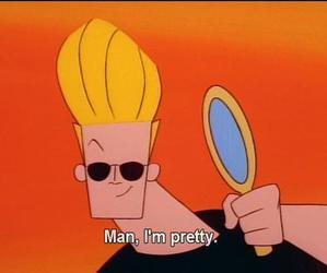 pretty, Johnny bravo, and cartoon image