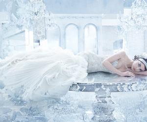 wedding dress and lazaro image