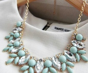 beautiful, necklace, and style image