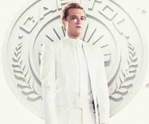 hunger games, josh hutcherson, and mockingjay image