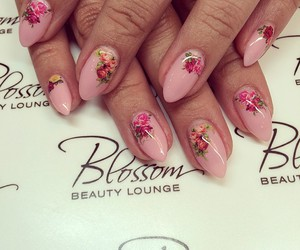 beauty, nails, and gelnails image