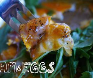 eggs, healthy, and food image
